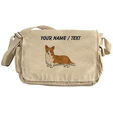 Pembroke Welsh Corgi (Custom) Messenger Bag