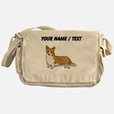 Pembroke Welsh Corgi (Custom) Messenger Bag