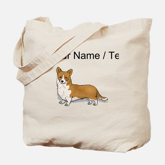 Pembroke Welsh Corgi (Custom) Tote Bag