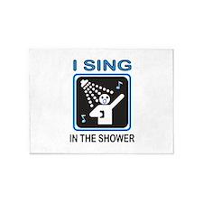SHOWER SINGER 5'x7'Area Rug