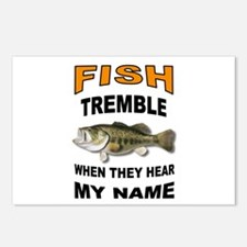 FISH TREMBLE Postcards (Package of 8)