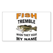 FISH TREMBLE Decal