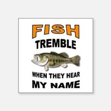FISH TREMBLE Sticker