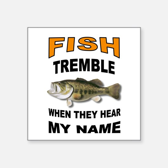 FISH TREMBLE Sticker