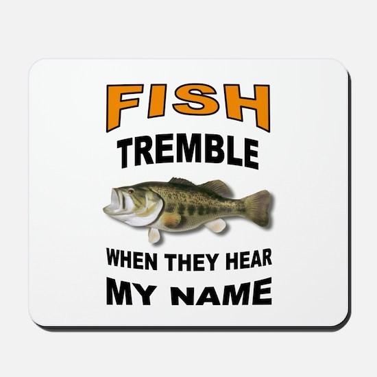 FISH TREMBLE Mousepad