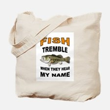 FISH TREMBLE Tote Bag