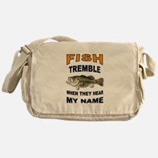FISH TREMBLE Messenger Bag