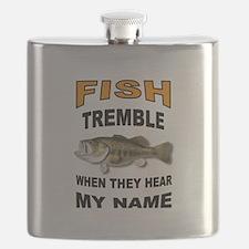 FISH TREMBLE Flask