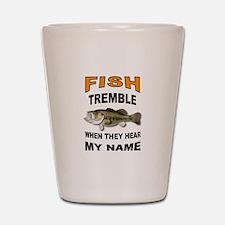 FISH TREMBLE Shot Glass