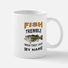 FISH TREMBLE Mugs
