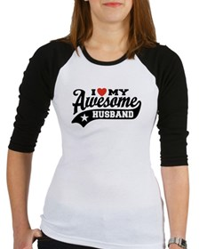 I Love My Awesome Husband Shirt