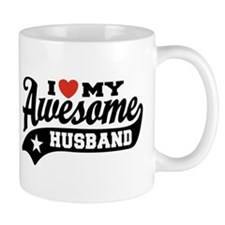 I Love My Awesome Husband Mug