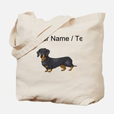 Dachshund (Custom) Tote Bag