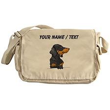 Dachshund (Custom) Messenger Bag