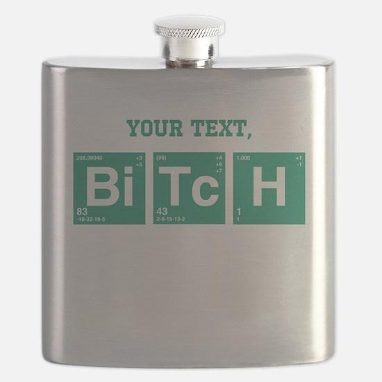Custom Text Jesse Pinkman Flask