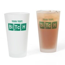 Custom Text Jesse Pinkman Drinking Glass