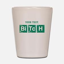 Custom Text Jesse Pinkman Shot Glass