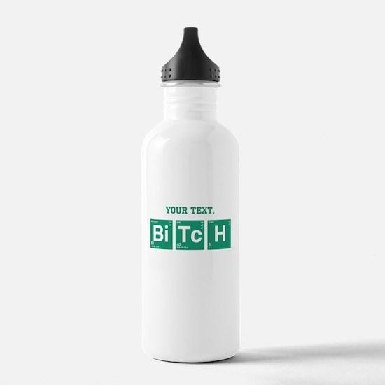 Custom Text Jesse Pinkman Water Bottle