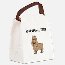 Sussex Spaniel (Custom) Canvas Lunch Bag
