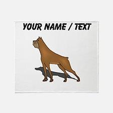 Boxer (Custom) Throw Blanket