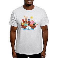 Cute Animal alphabet letters T-Shirt
