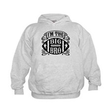 I'm The Big Bro Football Hoodie