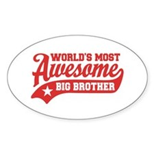 World's Most Awesome Big Brother Decal