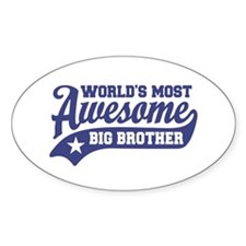 World's Most Awesome Big Brother Bumper Stickers