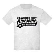 World's Most Awesome Big Brothe T-Shirt