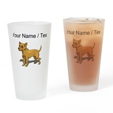 Chihuahua (Custom) Drinking Glass
