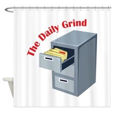 Daily Grind Shower Curtain