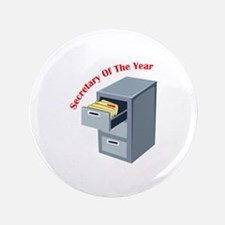 "Secretary Of Year 3.5"" Button"