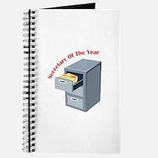 Secretary Of Year Journal