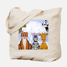 Zoo Animals Tote Bag