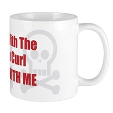 Mess With Curl Mug