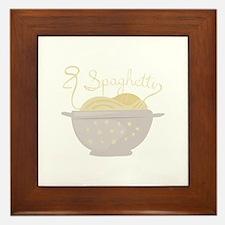 Spaghetti Framed Tile