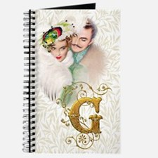 Monogram G Art Deco Lovers Journal