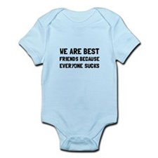 Best Friends Everyone Sucks Body Suit