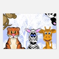 Zoo Animals Postcards (Package of 8)