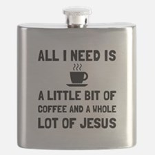 Coffee And Jesus Flask