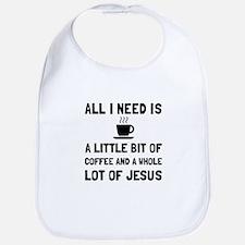 Coffee And Jesus Bib