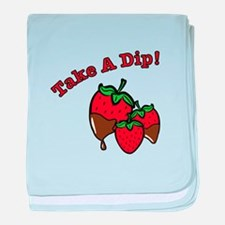 Take a Dip baby blanket
