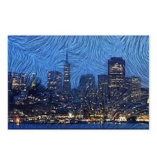 Van Gogh San Francisco Postcards (Package of 8)