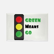 Green Means Go Magnets
