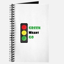 Green Means Go Journal