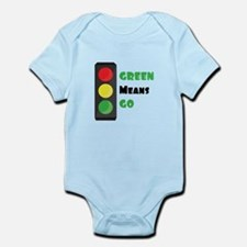 Green Means Go Body Suit