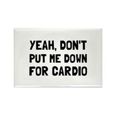 Down For Cardio Magnets