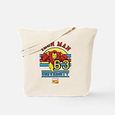Iron Man University Tote Bag