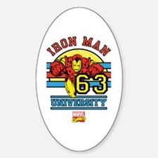 Iron Man University Decal