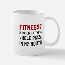 Fitness Pizza Mugs